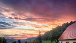 Ferienwohnung Sonnenuntergang 01