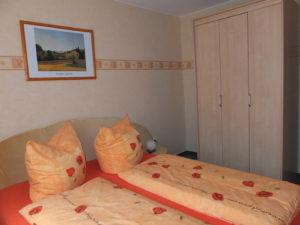 Ferienwohnung Schlafzimmer 02